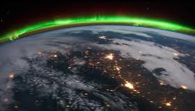 Aurora Borealis Orbital Time Lapse from Space, NASA Fly Over (Video) | Third Monk