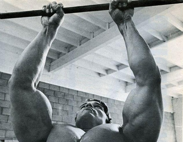 The Arnold Schwarzenegger 50 - Pullup Workout | Third Monk