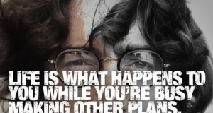 Life is What Happens - John Lennon | Third Monk