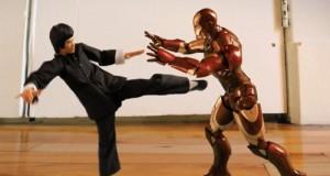 Bruce Lee Vs Iron Man Stop Motion Animation (Video) | Third Monk