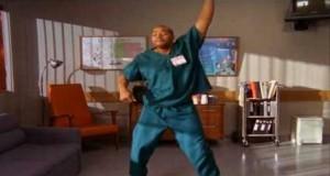 Scrubs - Turk Dances to Bell Biv Devoe's Poison (Video)   Third Monk image 2
