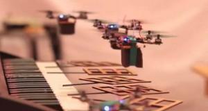 Flying Robot Quadrotors Perform James Bond 007 Theme (Video) | Third Monk