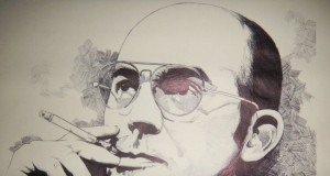 Life Should Not Be A Safe Journey to the Grave - Hunter S. Thompson    Third Monk image 2