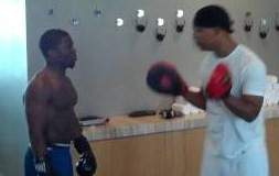 Kevin Hart - Impression of Floyd Money Mayweather's Boxing Workout (Video)   Third Monk
