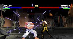 Ryu (Street Fighter) Vs Scorpion (Mortal Kombat), Machinima (Video) | Third Monk