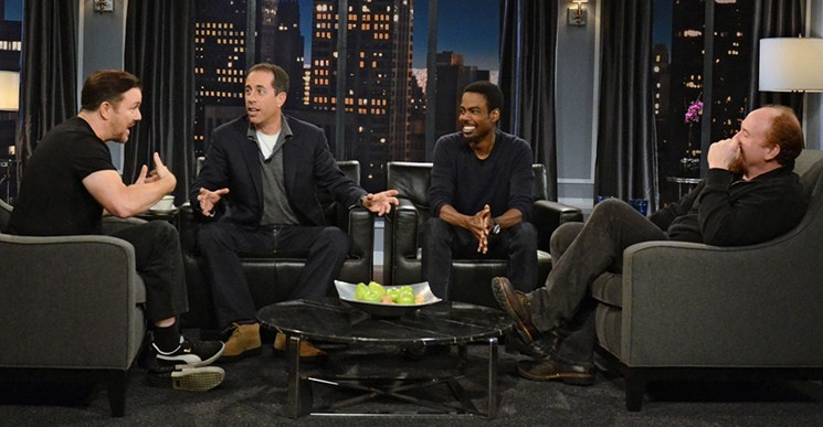 Talking Funny with Louis CK, Chris Rock, Jerry Seinfeld and Ricky Gervais | Third Monk image 1