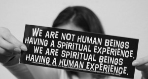 We Are Spiritual Beings Having a Human Experience - Pierre Teilhard de Chardin | Third Monk