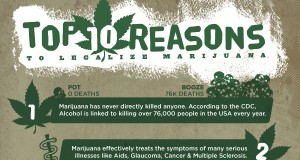 10 Reasons to Legalize Marijuana (Infographic) | Third Monk