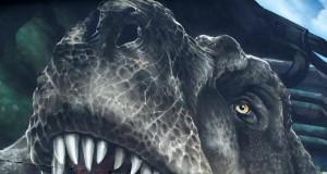 MadC - Jurassic Park Wall, Street Art Mural (Video)  | Third Monk image 1