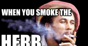 Bob Marley - When You Smoke the Herb, It Reveals You to Yourself | Third Monk image 1