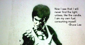 Bruce Lee - Don't Search for The Light in Your Life, Be The Light | Third Monk image 1