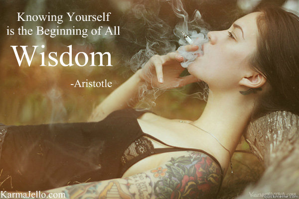 Aristotle Quote About Wisdom: Knowing Yourself Is The Beginning Of All