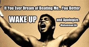 If You Ever Dream of Beating Me, You Better Wake Up and Apologize! - Muhammad Ali | Third Monk