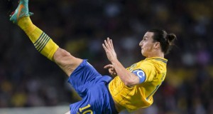 Zlatan Ibrahimovic Spoils Gerrard's 100th Cap by Scoring 4 Brilliant Goals (Video) | Third Monk image 1