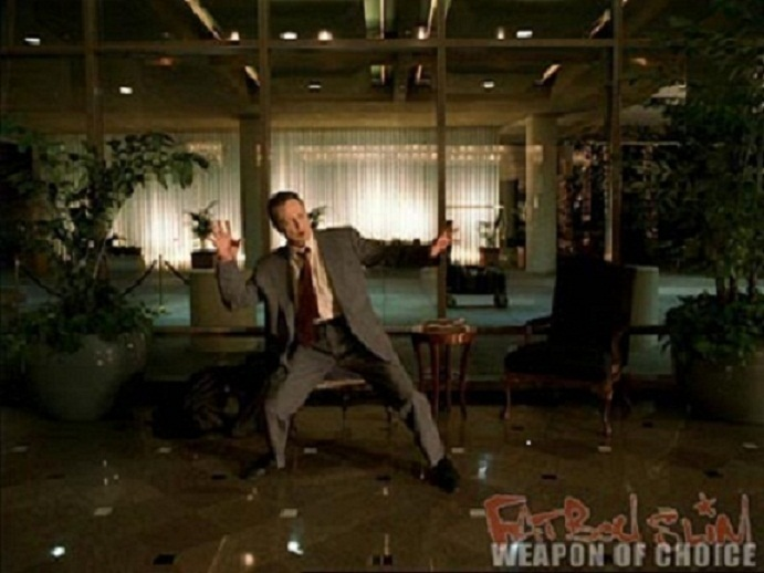 Christopher Walken Dancing to Fatboy Slim's Weapon of Choice (Video) | Third Monk image 1