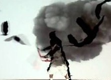 Shadow Fights - Japanese Performers Combine Live Action, Video Projection (Video) | Third Monk