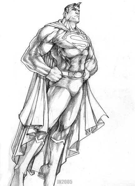 Superman_by_NgBoy