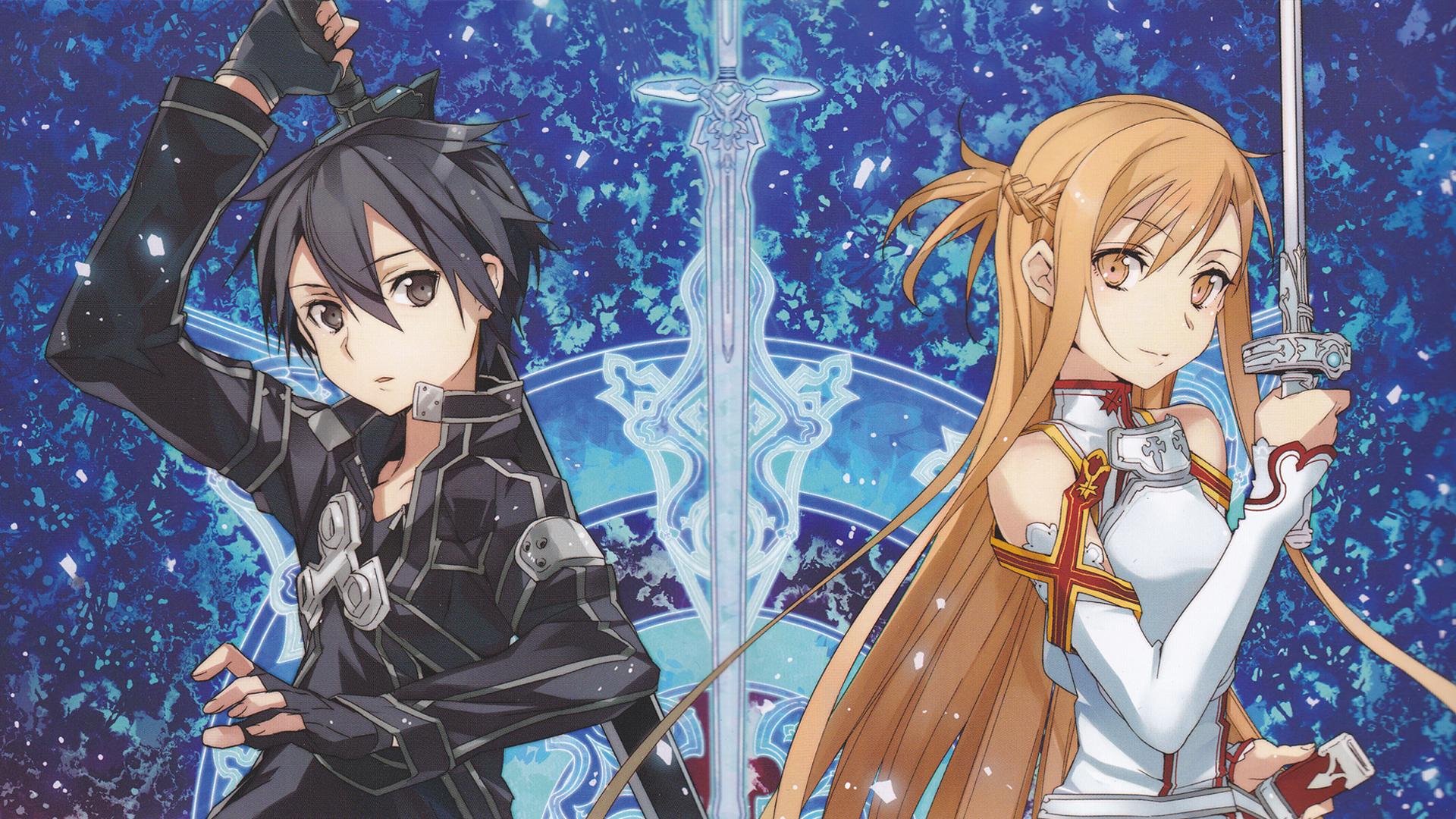 Sword Art Online Kirito and Asuna 2