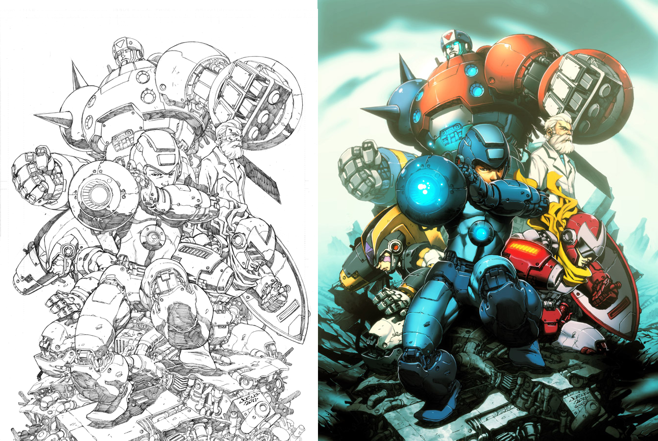 megaman_tribute_by_ngboy-d3egj6y