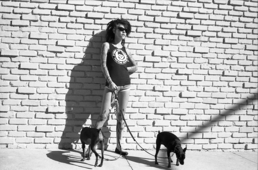 gregory-bojorquez-gallery-punk-girl-dogs