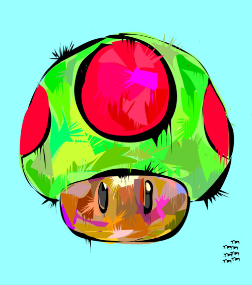 technodrome-art-gallery-mushroom-mario