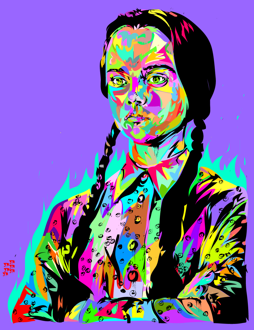 technodrome-art-gallery-wednesday-adams-family-christina-riccci