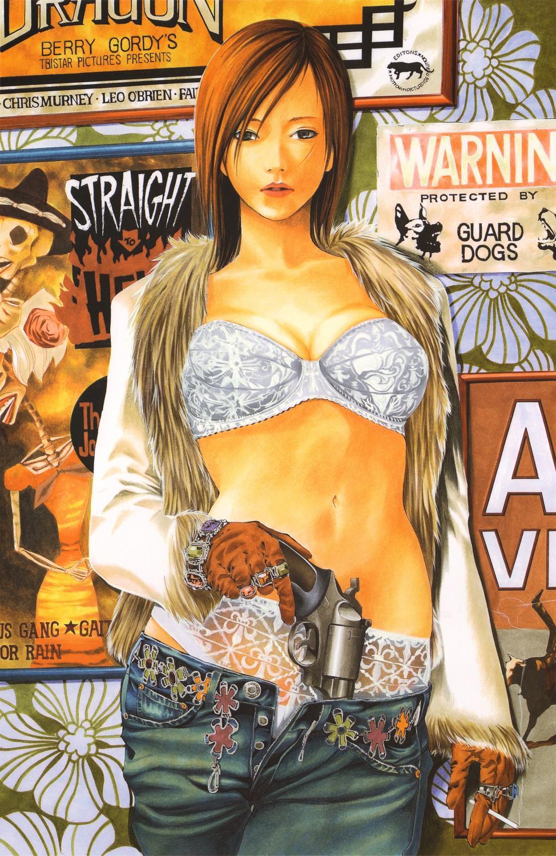 takeshi-obata-bra-panties-revolver