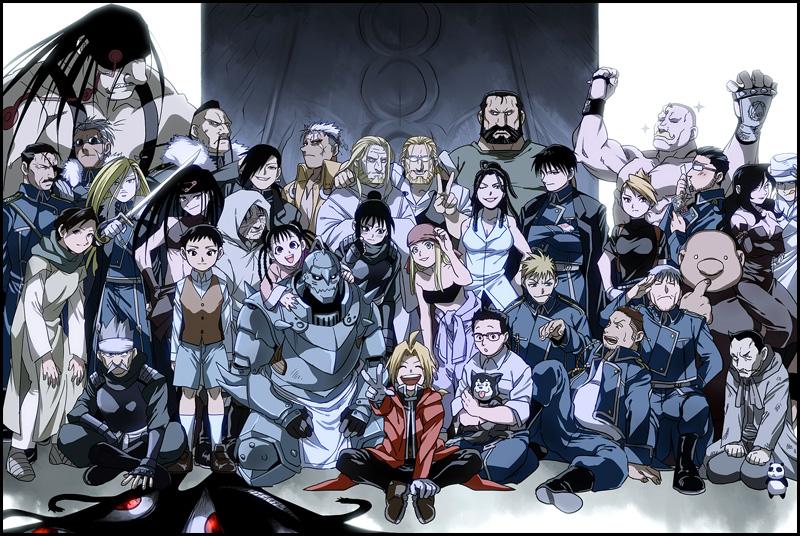 FullmetalAlchemistBrotherhood - Complete Cast