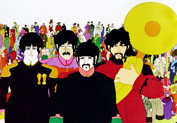The Beatles' Psychedelic Illustrator, Heinz Edelmann Art Gallery | Third Monk image 10