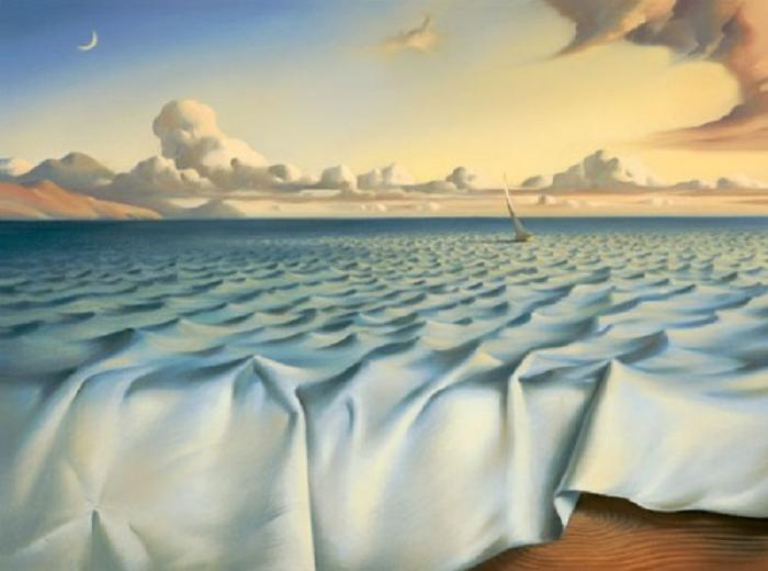 Vladamir-Kush-Surreal-Painting-Art-Gallery-Ocean-Ripples