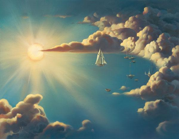 Surreal Reality Distortion Paintings Vladimir Kush Art