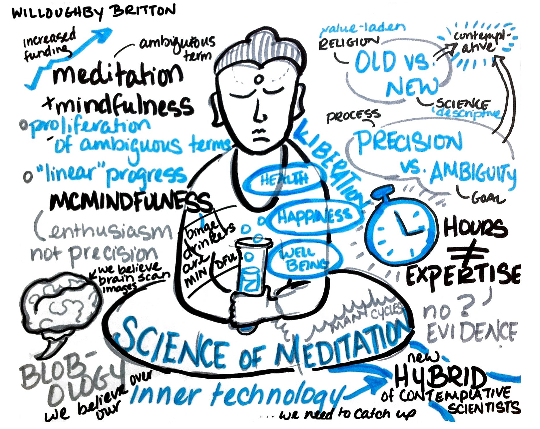 Meditation and neuroplasticity