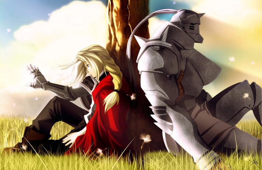 full metal alchemist Brotherhood - Elric Brothers