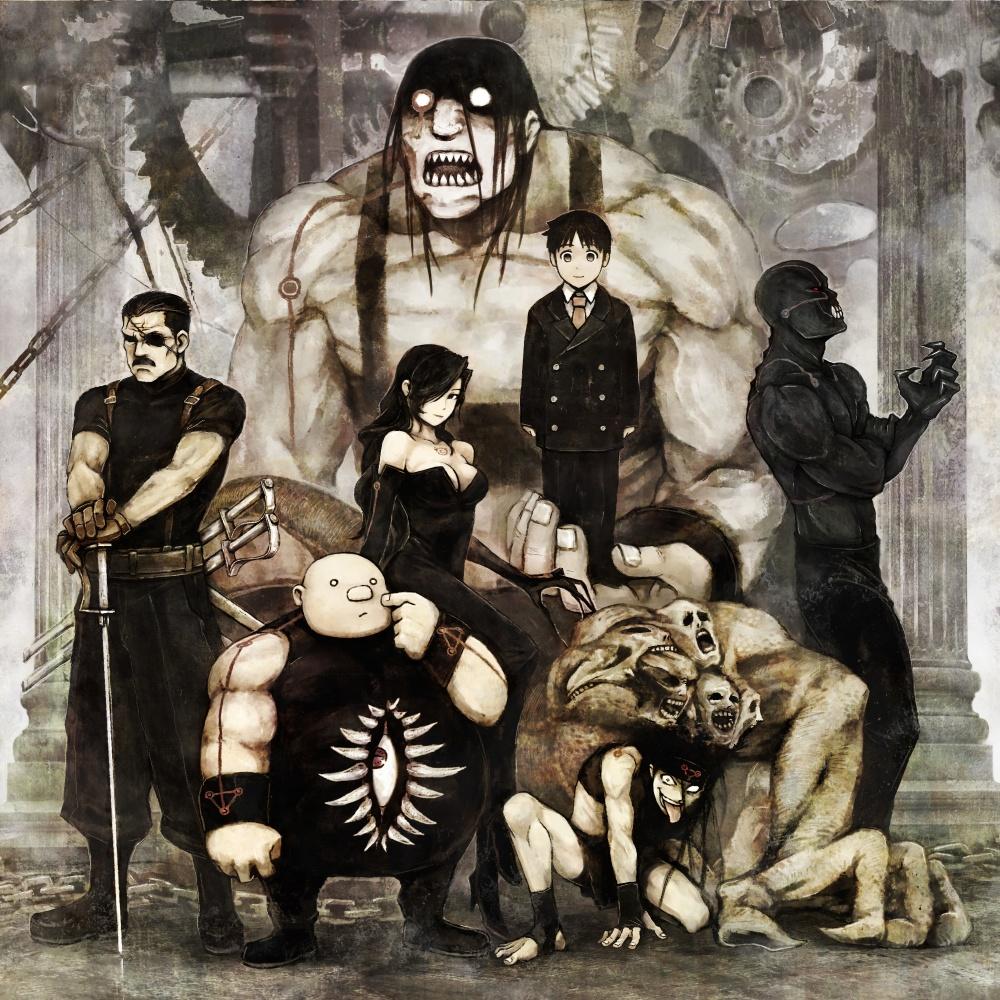 full metal alchemist Brotherhood - Homunculus