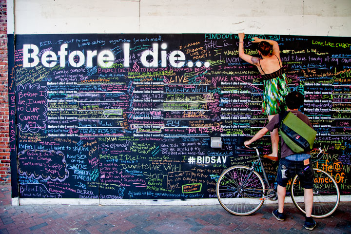 Before I Die - A Community Project by Candy Chang | Third Monk image 22