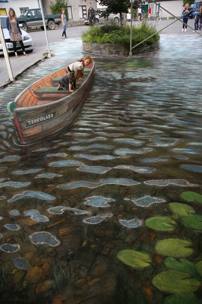 This River is a street! So realistic
