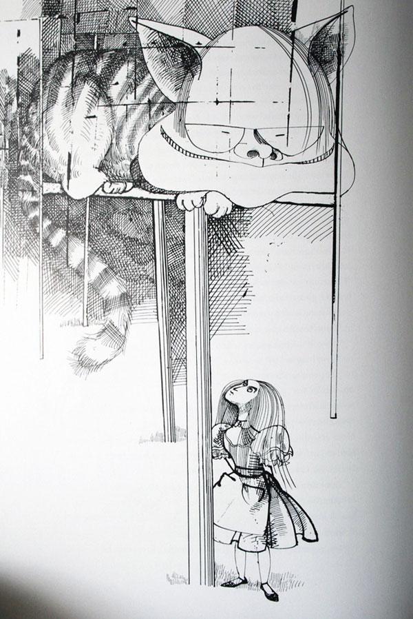 ralph-steadman-art-gallery-alice-in-wonderland-cat
