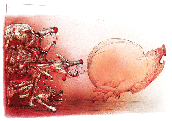 ralph-steadman-art-gallery-animal-farm