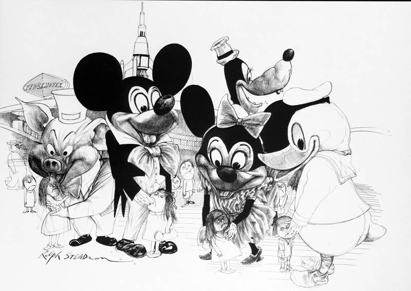 ralph-steadman-art-gallery-disneyland