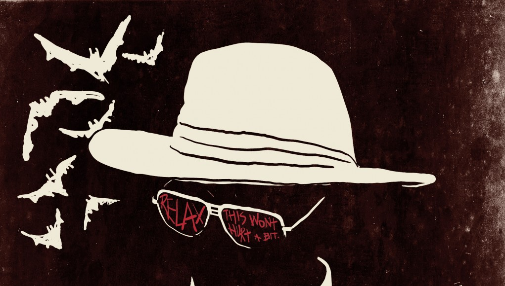 Fear and Loathing Illustrator, Ralph Steadman Psychedelic Art Gallery | Third Monk image 9
