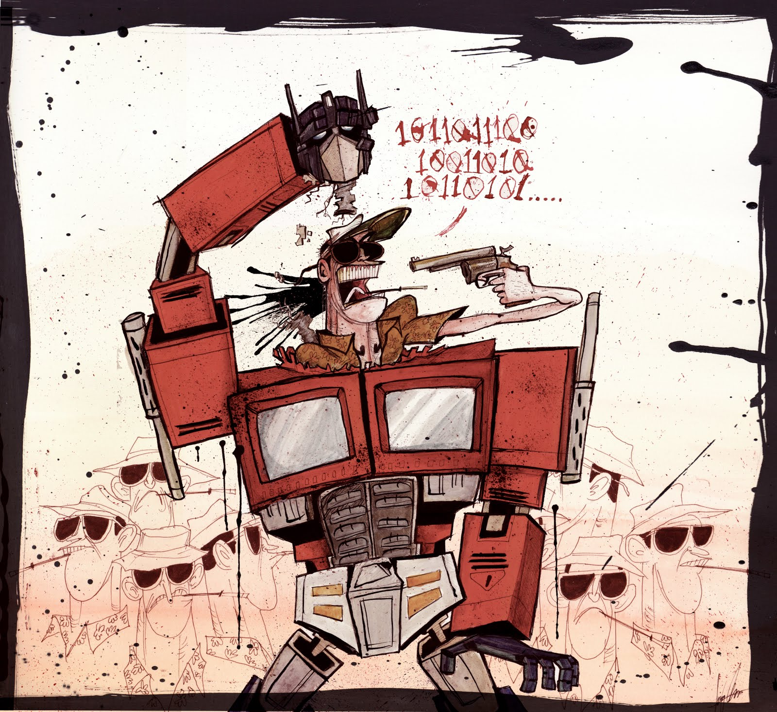 ralph-steadman-art-gallery-optimus-hunter