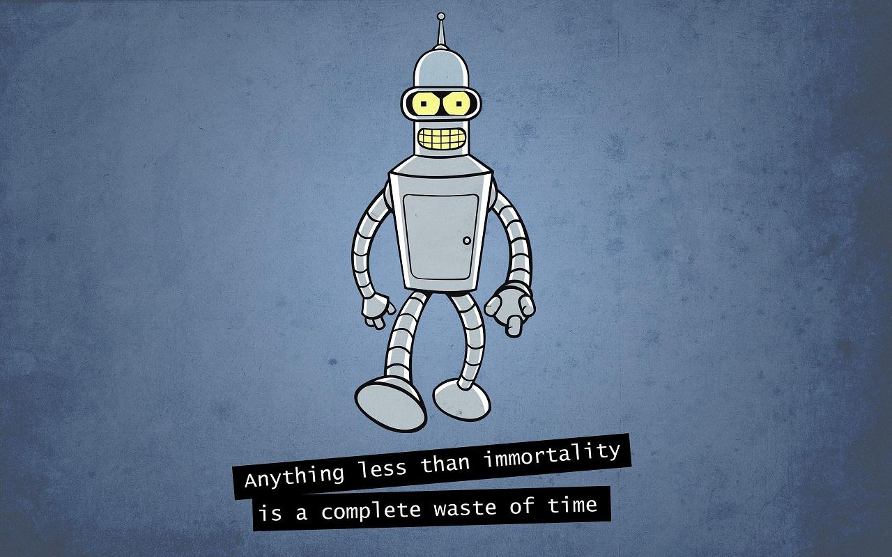 science-fiction-story-ideas-bender-immortality-futurama