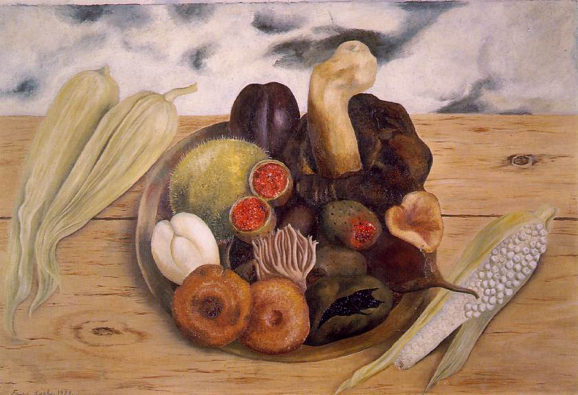 Fruits of the Earth 1938 Oil on masonite