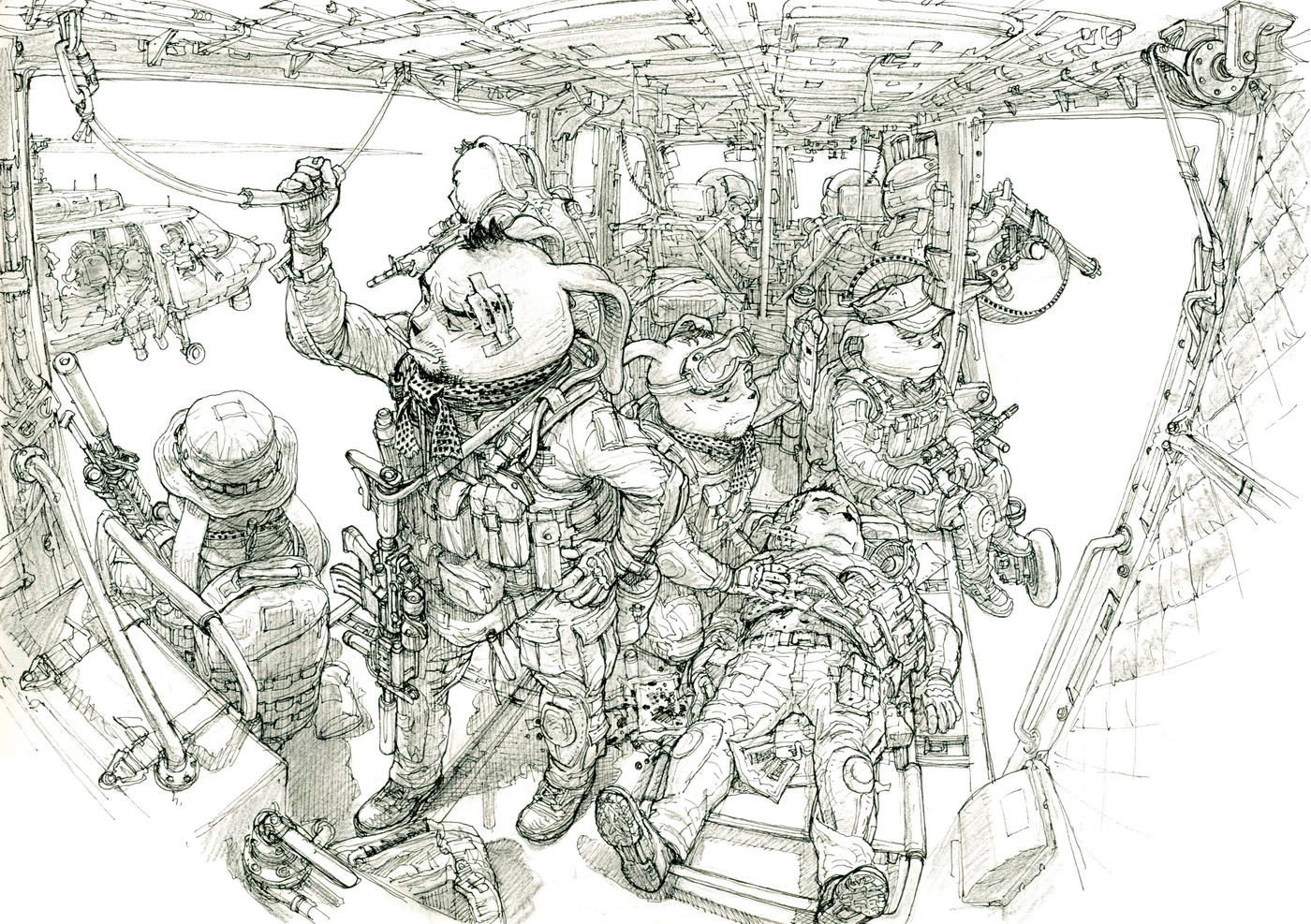 Kim Jung-Gi-sketch-art-photo-gallery-anima-soldiers