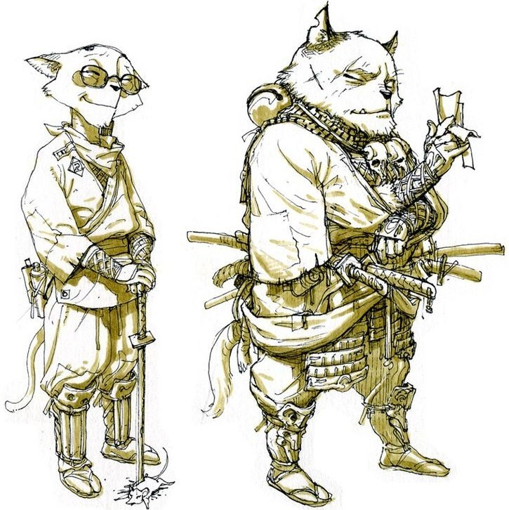 Kim Jung-Gi-sketch-art-photo-gallery-animal-warriors