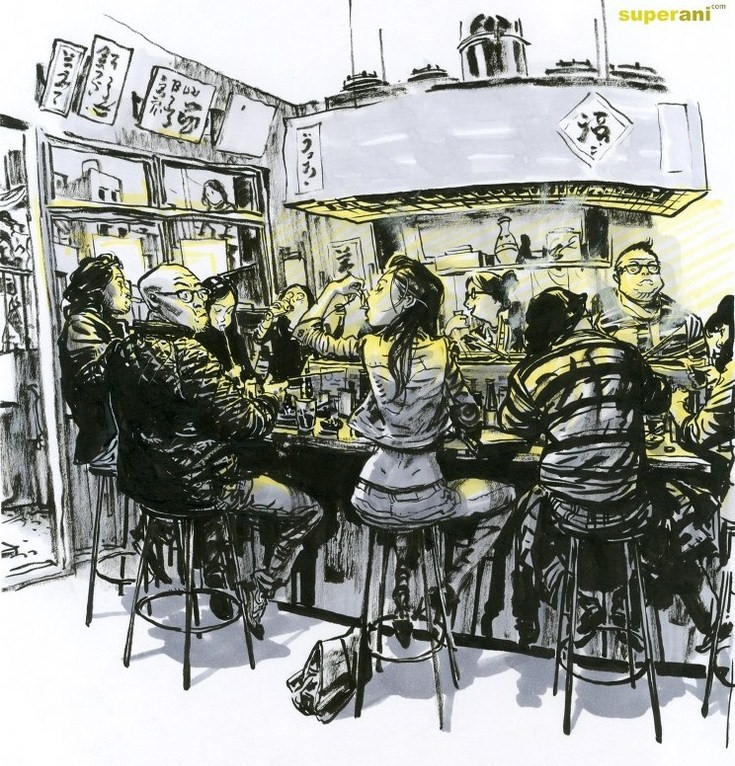 Kim Jung-Gi-sketch-art-photo-gallery-eating