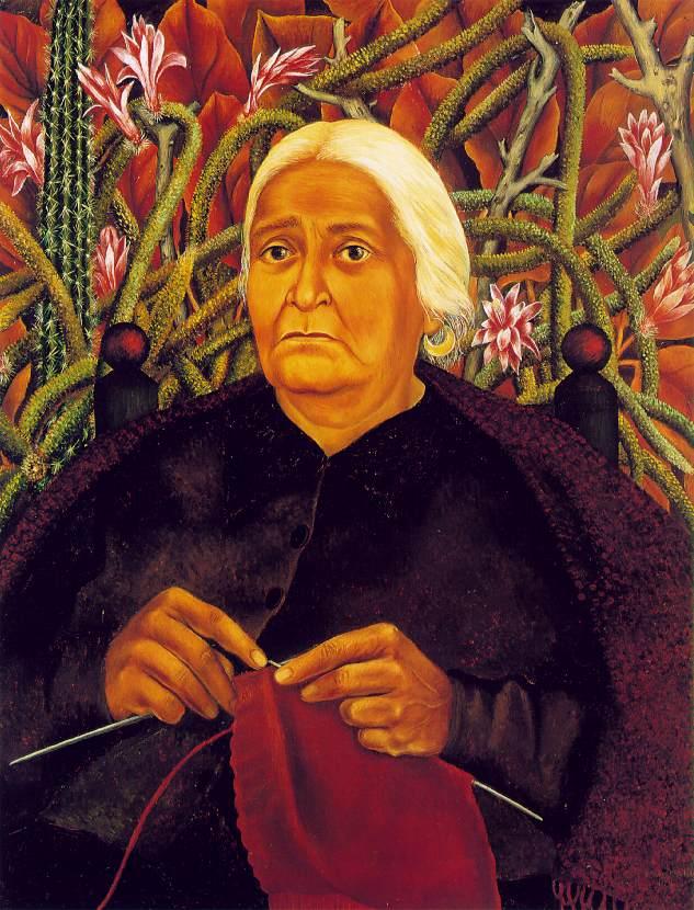 Portrait of Dona Rosita Morillo 1944 Oil on canvas, mounted on masonite