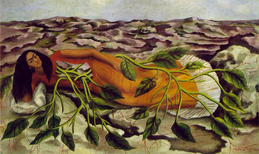 Roots (Raices) 1943 Oil on sheet metal
