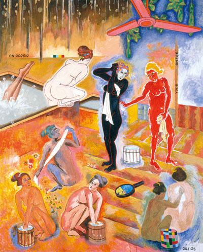 Tadanori-Yokoo-psychedelic-art-japan-bath