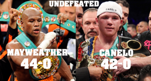 Floyd Mayweather Vs. Canelo Alvarez Fight Promo, Undefeated Legends Showdown (Video) | Third Monk